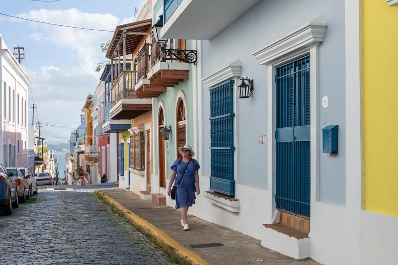Amanda in Old San Juan
