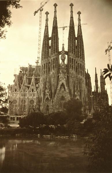 Barcelona, Spain: La Sagrada Familia