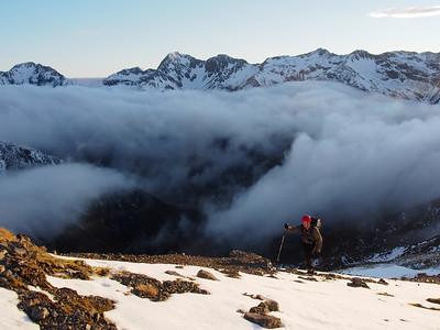Mt Rolleston - Rome ridge