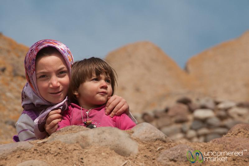 Iranian Children - Kandovan, Iran