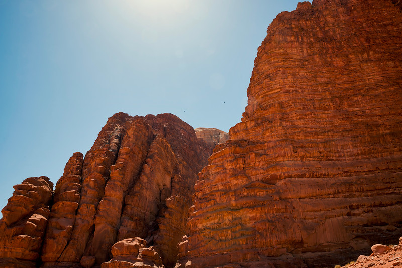 Wadi Rum mountains