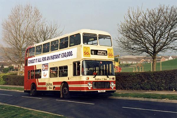 11th April 1995: Sussex