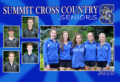 2016 Summit Cross Country Seniors