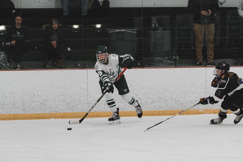 Holy Family Varsity Girls Hockey vs. Waconia, 1/9/20: Grayson Limke '23 (19)