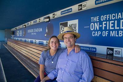 10-01-15 Dodger Stadium w Molly