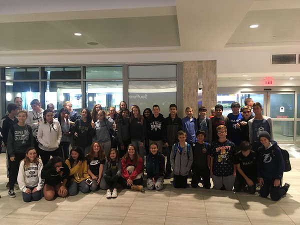 8th Grade Extended Trip to Virginia 2018