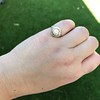 1.02ct Round Brilliant Diamond Bezel Ring 19