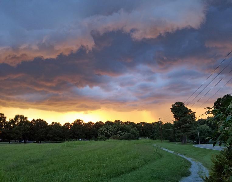Stormy evening