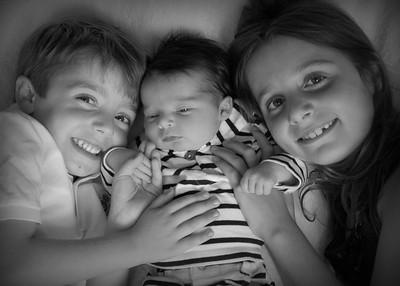 Arielle, Andrew & Audrey 2014