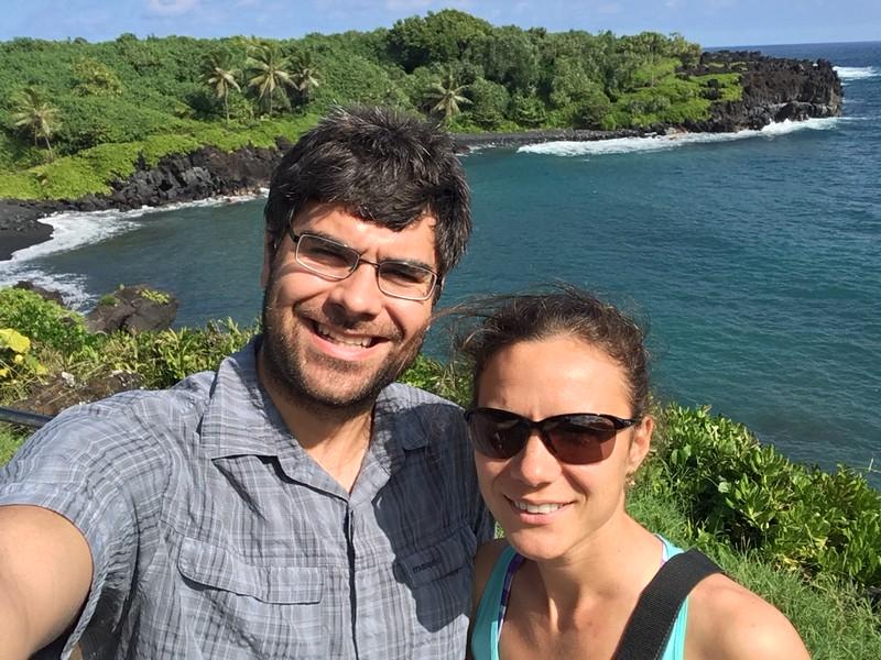 Selfie in Waianapanapa