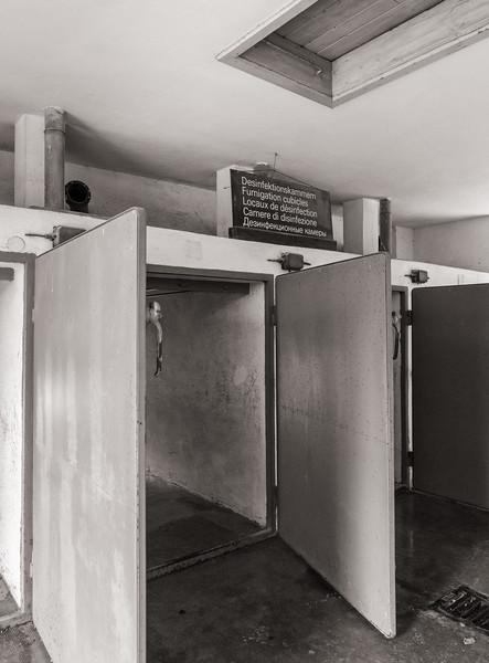 Fumigation cubicles