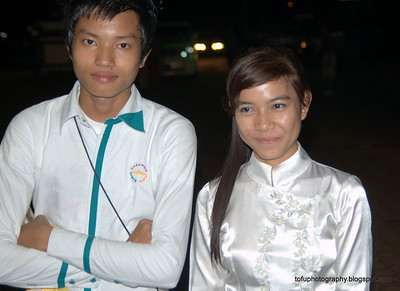 Yangon at night - August 2010