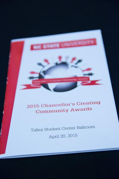 2015 Chancellor's Creating Community Awards