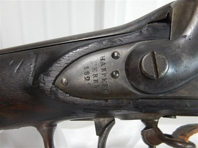 Prototype Harpers Ferry Musket Conversion (1829, George Moller Collection)