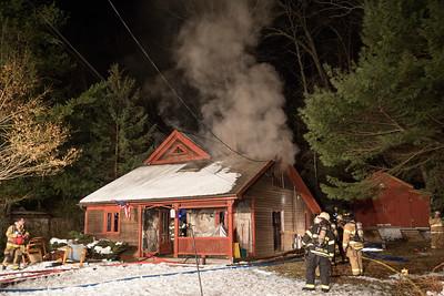 Great Quarter Rd. Fire (Newtown, CT) 3/9/18