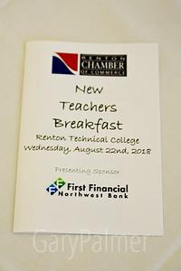 Chamber of Commerce New Teachers Breakfast 2018