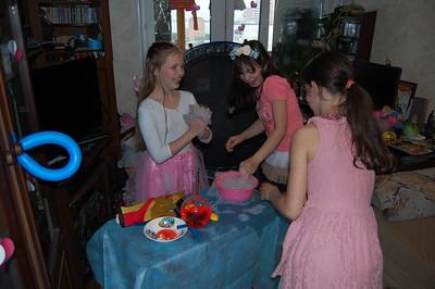 2016-05-15, Olya's 10th birthday party