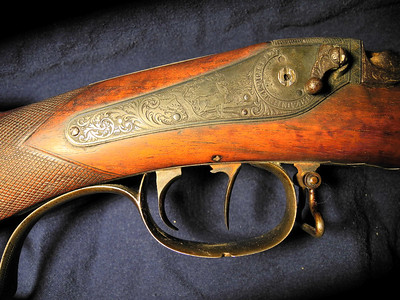 Old family musket