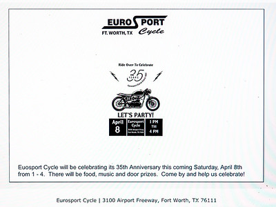 EuroSport 35th Anniversary Open House 04-08-17