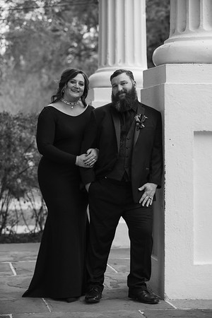 Stacey and Justin BW Images