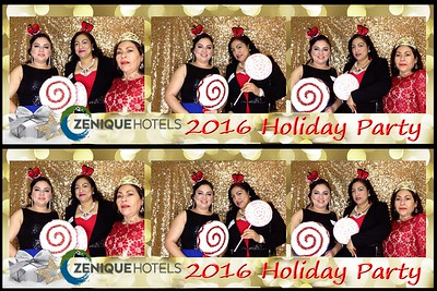 Zenique Hotels Holiday Party