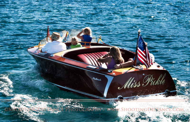 Miss Pickle rides in style, 2011 Concours d'Elegance, Lake Tahoe