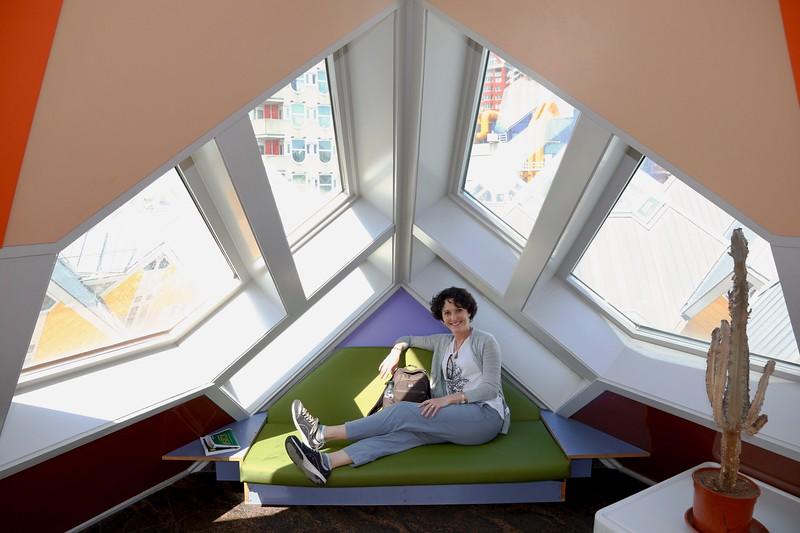 3rd floor sunroom - Cube Houses - Rotterdam