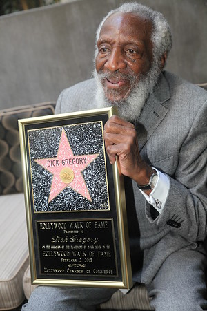 Dick Gregory - Hollywood Walk of Fame