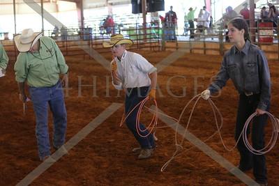 Calf Roping on Foot