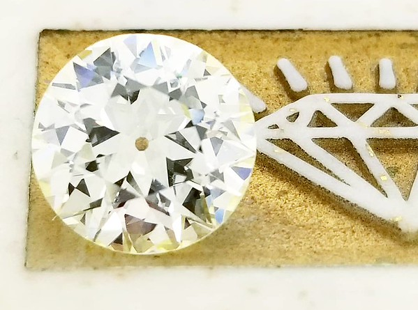 2.85ct Old European Cut Diamond - AGS N, VS1