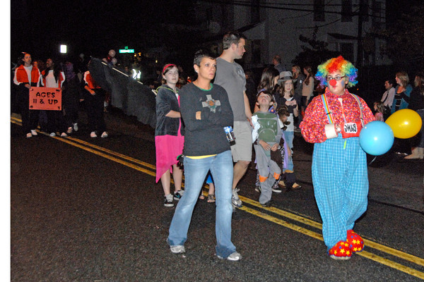 Collegeville Halloween Parade 10/27/10