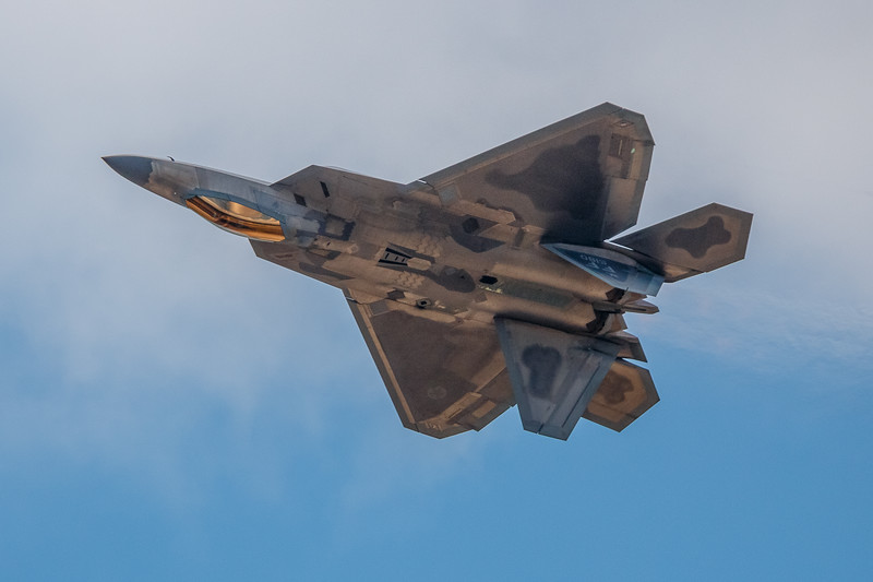 F--22 Raptor Inverted