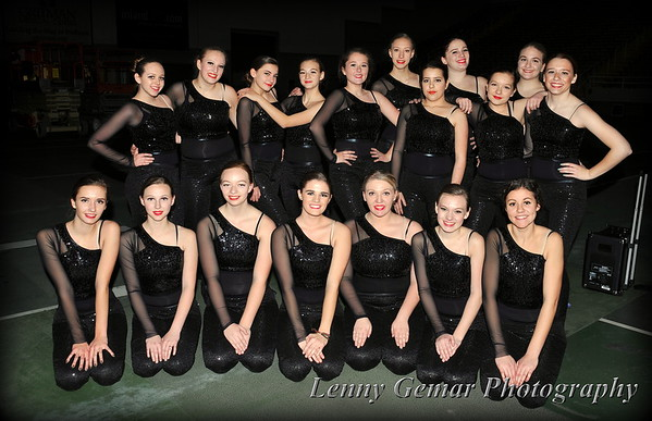 2015 Post Falls HS Dance Team