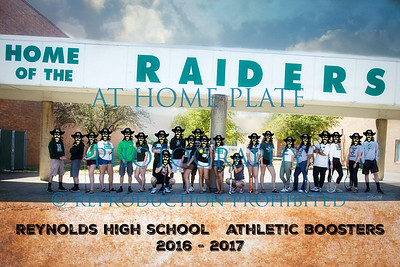 Reynolds Athletic Booster Calender 2016-2017