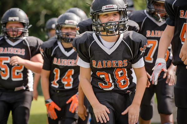 Keagan - Union Raiders - Junior Youth Football - 25Aug18