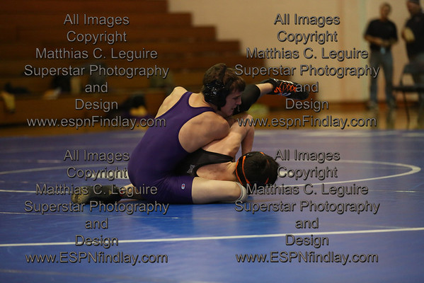 2014-01-22 Regional Dual Team Tournament - Ada, Van Buren, Carey
