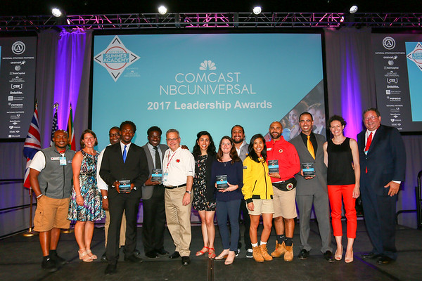 Comcast NBCUniversal Leadership Awards - Summer Academy 2017