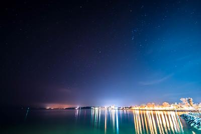 where stars meet the shore