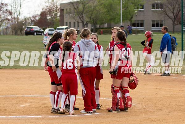 Liberty vs Goshen Softball 4/18/12