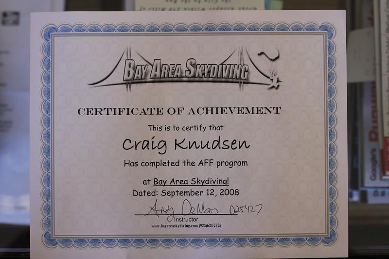 Craigs Skydiving Certificate (2).JPG