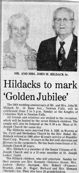 Grandma & Grandpa Hildack