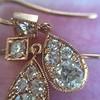 1.51ctw Diamond Mosaic OEC Dangle Earrings 28