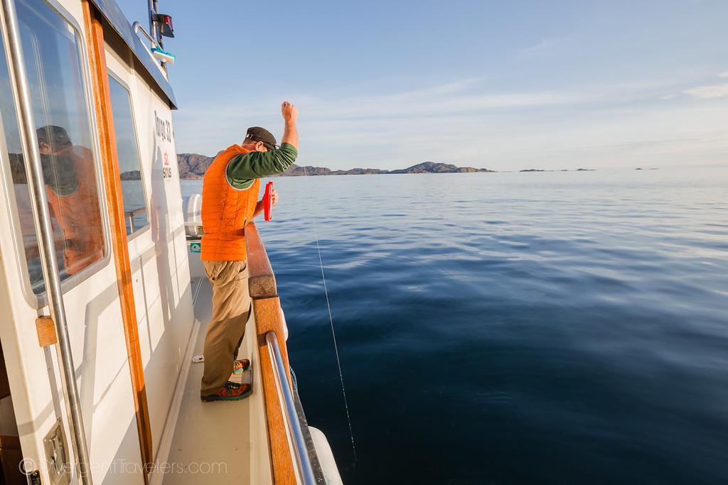 Sisimiut Greenland - Fishing - Lina Stock