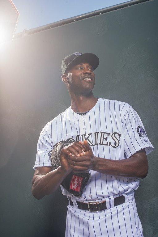 . 32 LaTroy Hawkins Position: RHP Height: 6-5 Weight: 219 Expectations: At age 41, Hawkins can still throw a 94 mph fastball. He opens the season as the closer but likely will share that role with Rex Brothers. It�s fair to ask how much he has left in the tank.   2014 salary: $2.5 million(Photo by Rob Tringali/Getty Images)