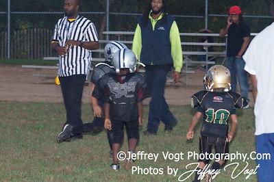 10-04-2012 Montgomery Village Sports Association Tiny Mites vs MCSA Cowboys, Photos by Jeffrey Vogt Photography