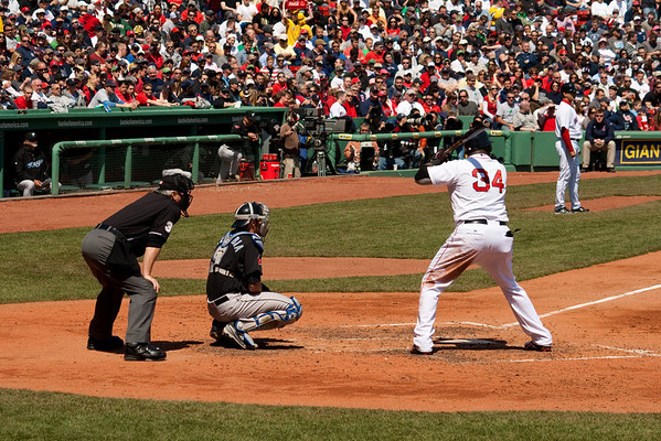 Red Sox on Patriots Day