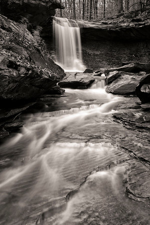 Blue Hen and Buttermilk Falls - Nov 2012
