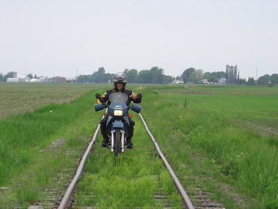 Schefferville railway bed preride