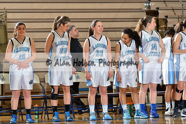 Girls JV Basketball - Haslett at Lansing Catholic
