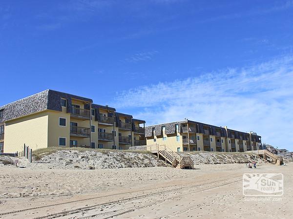 The Golden Strand Condos Oceanfront Exterior